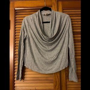 Forever 21 Grey Long Sleeve Shirt Size Large